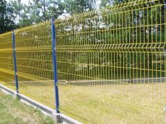 Panelové oplocení 3D E55L