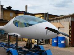 Moderní ultralehké letadlo VIVA