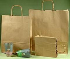 Papírové tašky TWIST 18x7x24 hr