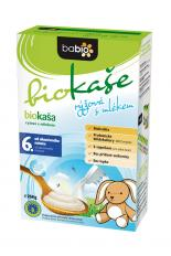 Biokaše rýžová s mlékem