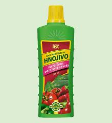 Listová hnojiva LIST pro papriky, rajčata a okurky
