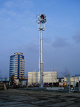 Trubkové telekomunikační stožáry - vybrané