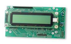 Textová LCD jednotka