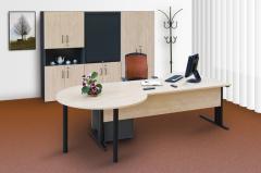 Desks working