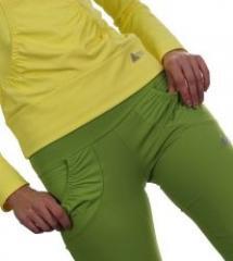 Dámské kalhoty shrnovací