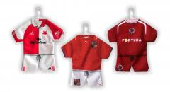 Minidresy - fotbalové