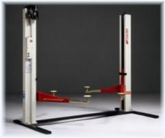 Elektromechanický 2-sloupový asymetrický zvedák