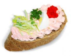 Chlebíček lososový