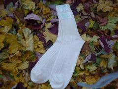 Ponožky S vyšším lemem