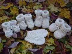 Ponožky Ručně pletené