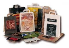 Papírové tašky strojní 220 x 100 x 310 mm