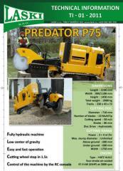 Frézy na pařezy Predator P75