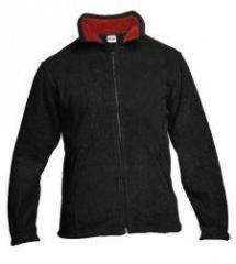 Fleece mikina černá 9601