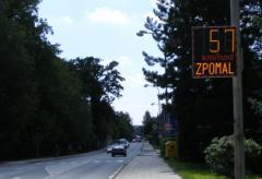Radarové měření rychlosti