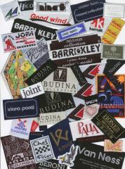 Tkané textilní etikety