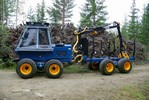 Tractors for timber industry