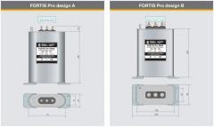 Kompenzační kondenzátory Fortis Pro