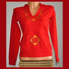 Mikina -  Červená elegant