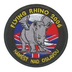 Rukávové znaky Flying Rhino 2006