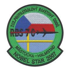 Rukávové znaky Nobel Star 2007