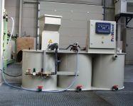 Zařízení na výrobu a dávkování polyelektrolytu