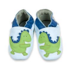 Capáčky kožené Baba+Boo Dinosaur