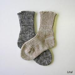 Dětská zimní ponožka řetízkovaná