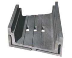Flexibilní kabelový žlab z betonu