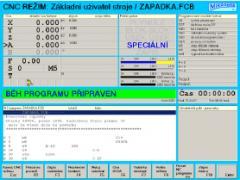Řídící systémy pro řezání MIKROPROG P