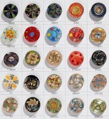 Beaded buttons