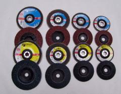 Abrasive disks elbor