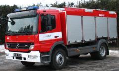 Kombinovaný hasicí automobil KHA 20/2000/120