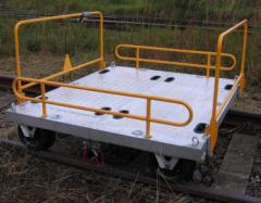 Ruční kolejový vozík 500 kg