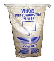 Sušené mléko plnotučné