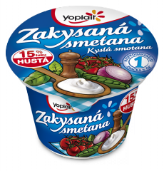 Yoplait zakysaná smetana jogurty