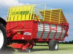 Samosběrací vozy Euroboss