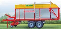 Samosběrací vozy Primo