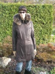 Kožená bunda dámská A kůže hovězina