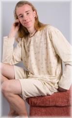 Pyžamo Oliver - béžová