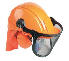 Helmet of woodcutter