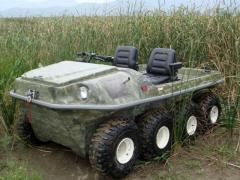 Special automobiles-amphibians