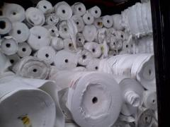 Fabrics made of polyester
