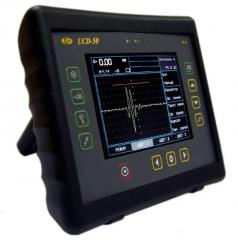 Ultrasonic flaw detector for high quality testing and industrial applications