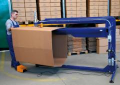 The equipment for sewing of corrugated packaging