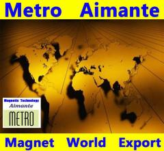 Metro Aimante magnetic bracelets belts wind turbins maglev magnets MRI