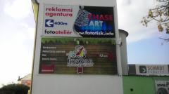 Reklamní plachta (PVC banner)