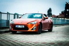Rent sportcar Toyota GT 86 in Prague