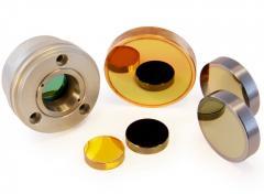 Optika (čočky, zrcátka) pro CO2 lasery