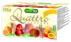 Čaj Quattro Fresh selection ov. por. v hyg.