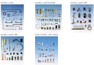 Produkty strojů TPX: